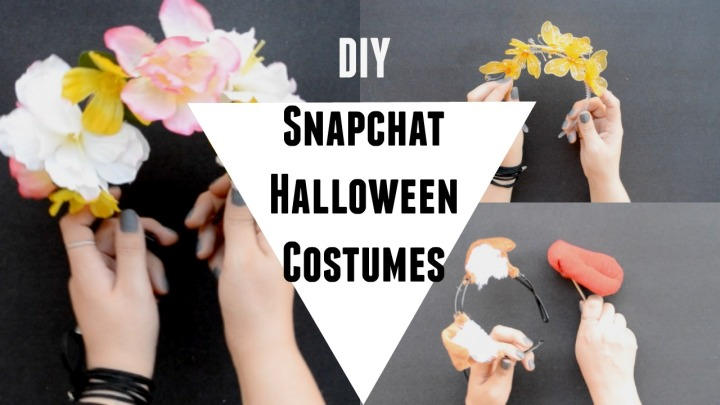 DIY Snapchat Halloween Costumes